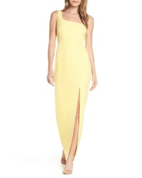 Vince Camuto One Shoulder Column Dress