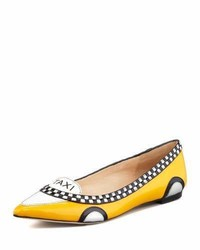 Kate Spade New York Go Taxi Pointed Toe Flat