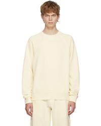 Tom Ford Yellow Fleece Gart Dyed Sweatshirt