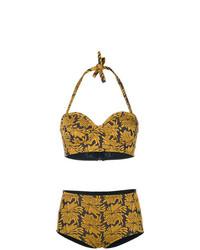 Maison Margiela Floral Bikini Set