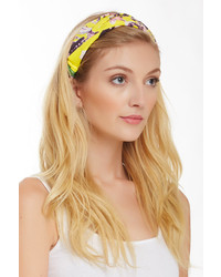 Cara Accessories Braided Print Headband