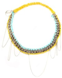 Maison Michel Chain Headband