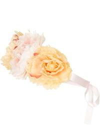 Topshop Floral Ribbon Tie Headband
