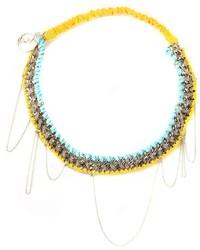 Maison michel chain headband medium 204024