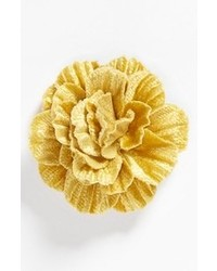 Yellow Floral Lapel Pin