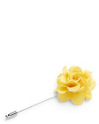 Original Penguin Plaid Flower Lapel Pin