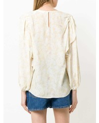 See by Chloe See By Chlo Floral Ruffle Trim Blouse