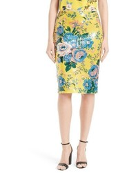 Floral pencil skirt medium 3684893