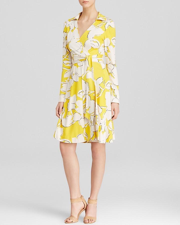 Diane Von Furstenberg Wrap Dress New Jeanne Two Silk