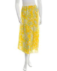 Floral wrap skirt medium 1159196