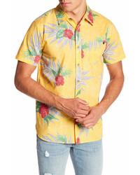 Lost Aloha Im Short Sleeve Woven Shirt