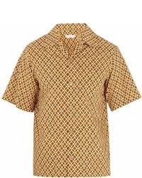 Prada Floral Print Cotton Shirt