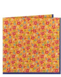 Ted Baker London Floral Cotton Silk Pocket Square