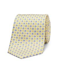 Bonobos Lemon Drop Floral Silk Tie