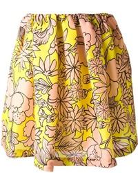 Floral print skirt medium 228122