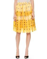 No.21 No 21 Floral Organza Skirt