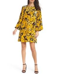 French Connection Aventine Velvet Tunic Dress
