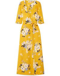 Sea Pia Floral Print Wrap Dress