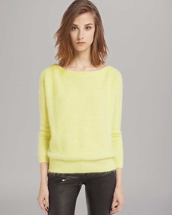 Maje Sweater Origan Angora | Where to buy & how to wear