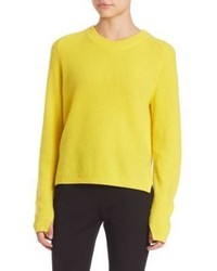 Valentina cashmere cropped sweater medium 753744