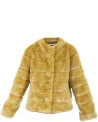 Yellow Fur Coat