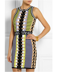 Versace Stretch Knit Mini Dress