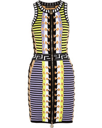 Versace Stretch Knit Mini Dress