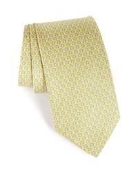 Salvatore Ferragamo Darwin Geometric Gancini Silk Tie