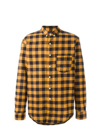 Gingham check shirt medium 7141037
