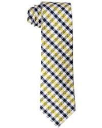 Yellow Gingham Tie
