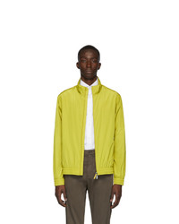 Z Zegna Yellow Blouson Jacket