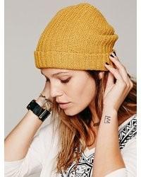 Yellow Headwear