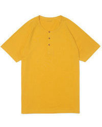 Yellow Henley Shirt