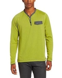 Burnside Metro Long Sleeve Jersey Crew Henley