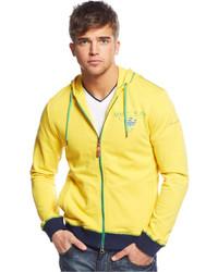 Armani Jeans Brazil Flag Hoodie