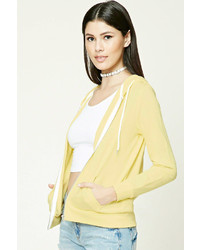 Forever 21 Classic Zip Up Hoodie