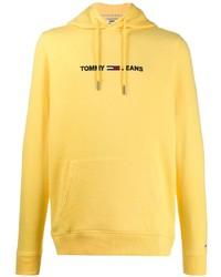 Tommy Jeans Logo Print Hoodie