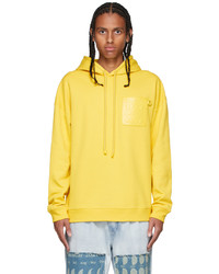 Loewe Yellow Anagram Patch Hoodie