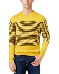 Tommy Hilfiger Ribbed Knit Striped Sweater