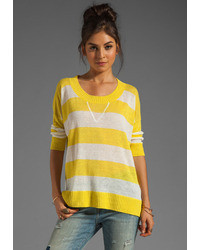 Central Park West Texarkana Striped Pullover