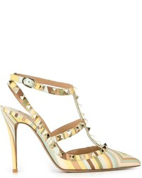 Valentino rockstud native couture pumps medium 382752
