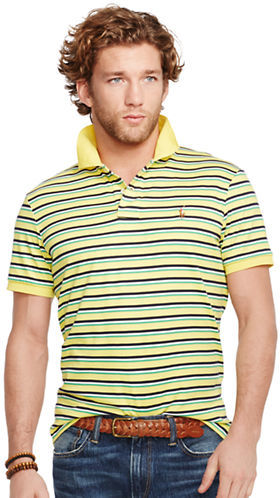 Shirt Soft Polo Touch Striped Pima hQdtsr