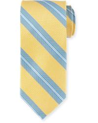 Peter Millar Striped Silk Tie Daylight