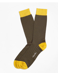 Brooks Brothers Bright Stripe Crew Socks