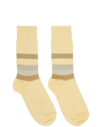 Marni Yellow Stripe Socks