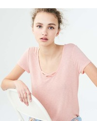 Seriously Soft Shadow Stripe Girl Tee