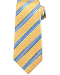 Yellow Horizontal Striped Tie