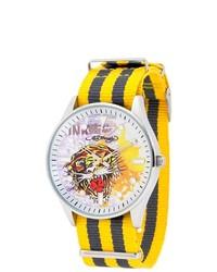 Ed Hardy Maverick Yellow Watch