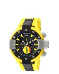 Invicta S1 Rally Black Yellow 20atm Chronograph Watch