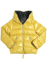 Duvetica Water Resistant Nylon Down Jacket